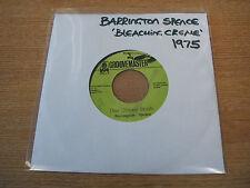 "barrington spence use chiney brush 1975 jamaican groovemaster label 7"" vinyl"