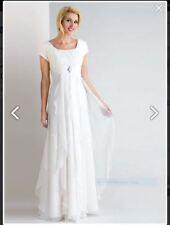 Chiffon 3/4 Sleeve Wedding Dresses