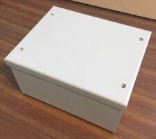 ENCLOSURE PROJECT BOX STEEL GREY 150mm x 120mm x 80mm NEW