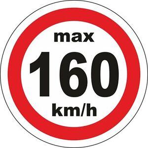 160kmh Geschwindigkeitsaufkleber 20mm Winterreifen MS Allwetterreifen 10189