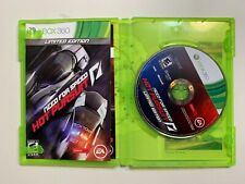 Need for Speed Hot Pursuit Limited Edition Microsoft Xbox 360 Video Game Tested