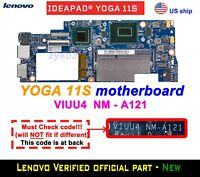 Lenovo Yoga 11S Laptop i7-3689 CPU VIUU4 NM-A121 45101512005 Motherboard
