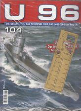 U96 - Ausgabe Nr. 104 Modellbau Hachette / OVP