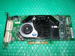 Rare NVIDIA Quadro FX 3000 256MB DDR Dual DVI AGP Graphics Card