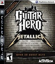 PS3 Guitar Hero Metallica Game for PlayStation 3 RARE BRAND NEW & SEALED