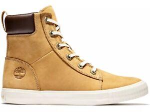 Timberland Womens Skyla Bay Lightweight 6 inch Wheat High Top Sneaker Boot A2C3S