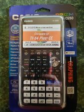 Casio Prizm Fx-Cg50 Color Graphing Calculator w/Python 3D Graphs *Brand New*