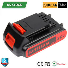 For Black & Decker LBXR20 20Volt Li-Ion Battery LBXR2020 40wh LB20 LBX20 LBX4020