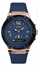 GUESS Women's Stainless Steel Connect Smart Watch - Amazon Alexa, iOS & Android