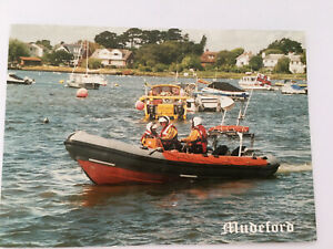 Mudeford Life Boat Postcard Real Photo Posted