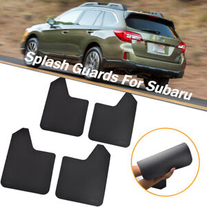 For Subaru Rally Mud Flaps Splash Guards Mudguards Mudflap Fender Flexible