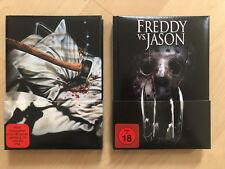 Freitag der 13. und Freddy vs. Jason Wattierte Mediabooks Neuwertig!