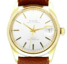 Vintage Tudor Prince Oysterdate Gold & Steel Automatic Watch - Great Condition