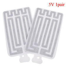 2pcs USB 5V 8*13CM Warm Heating Heater Winter Warm Plate For Waist Shoes Pad SL