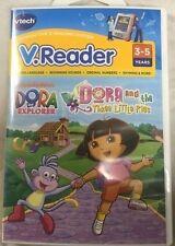 VTECH V.READER DORA THE EXPLORER DORA AND THE THREE LITTLE PIGS  NEW