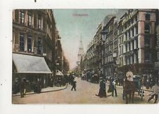 Cheapside London Vintage Postcard 851a