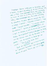 """Gabriel MATZNEFF - Manuscrit autographe signé """"Les Trois petits cochons"""" 8 pages"""