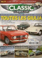 CLASSIC & SPORTS CAR 7 S2 MASERATI A6G/54 ZAGATO TVR TAIMAR TURBO ASA 1000 GT 64