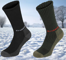 FOX Outdoor Wandersocken Funktionssocken Trekkingsocken Gr. 39-47 Oliv Unisex