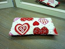 Purse Love Hearts Make Up Bag Phone Fab Gift Fair Trade Handmade in India