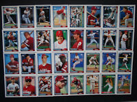 1992 Topps Philadelphia Phillies Team Set of 32 Baseball Cards