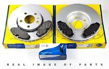 FRONT  BRAKE SET DISCS AND PADS FIT NISSAN VAUXHALL COMLINE ADB01127 ADC1110V