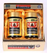 240g(8.5oz) X 2ea, Korean 6Years Root Red Ginseng Gold Extract, Saponin, Panax