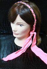 Headband Polka Dot Fabric Scarf Twist Tie Chain Link Wrap Fashion Hair Accessory