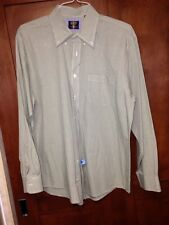 Arrow Green Dress Shirt Size Large