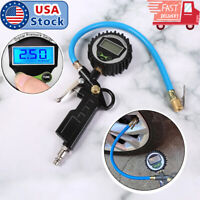 Digital Car Truck Vehicle Air Tire Pressure Inflator Gauge LCD Dial Meter Tester