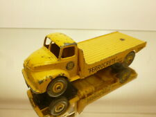 DINKY TOYS 419 LEYLAND COMET  - YELLOW 1:43 GOOD CONDITION - NO BOX