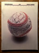 1989 Cleveland Indians Official Baseball Yearbook - MINT CONDITION!!!