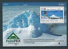 NOUVELLE-ZÉLANDE 1999 PALMPEX BLOC-FEUILLET NON MONTÉS EXCELLENT ÉTAT, MNH
