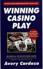 lcw Winning Casino Play by Avery Cardoza Paperback Blackjack Craps Slots Poker