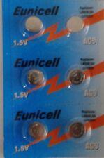 EUNICELL Set di 6 BATTERIA SR936SW/AG9/SR936/LR936/394/1, 5V ALCALINO
