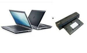 """Dell Latitude E6320 13.3"""" Laptop i5 8GB MEM 128GB SSD Win10Pro +Dell Dockstation"""