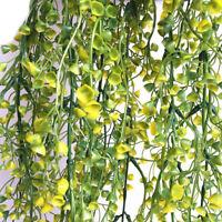 Artificial Fake Silk Flower Vine Hanging Garland Plant Home Garden Wedding GIFT
