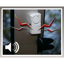 4 PEZZI porta - & Finestra-allarme sicurezza tecnica magnetico Sensore Sirena Allarme