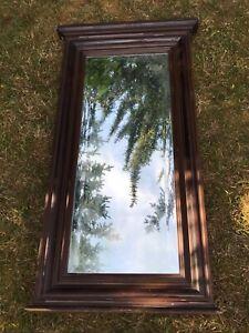 Alter Spiegel Holz Shabby. Dachbodenfund