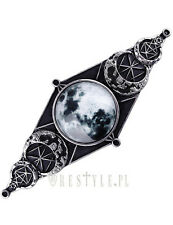 Restyle Moon Geometry Hairclip Occult Jewelry Barrette Crescent Moon Symbol Goth