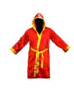Boxing MMA Robes Stock Full Length Satin Walkout Robe