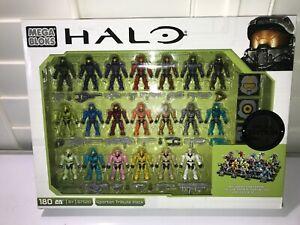 Mega Bloks HALO Spartan Tribute Pack Special Edition 20 Mini Figures set NEW