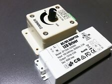 LED Light Driver 12V 60W Power Adapter Supply CV with Hardwire Dimmer Regulated