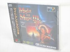 MIGHT AND MAGIC III 3 Brand New Mega CD SEGA Genesis Import Japan Game aaaca mcd