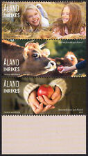 2019 Aland Finland Harvest Festival Cow Apples Children Country Booklet Stamps