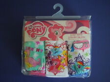 MY LITTLE PONY SUPER CUTE LITTLE GIRLS' PANTIES SIZE 4  YOU GET ALL 3 PANTIES !