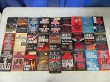 BIG Lot of (27) JACK HIGGINS Spy Thriller Books SEAN DILLON Angel Of Death EAGLE