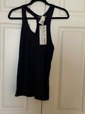 Planet Blue - Groceries Apparel Women's Navy Tank Size S NWT