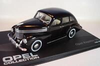 Opel Collection 1/43 Opel Kapitän `50 schwarz (1948 - 1950) in Plexi Box #611