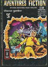 AVENTURES FICTION 3.Chasse gardee.Comics Pocket CB26